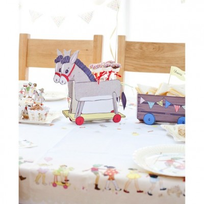 Belle and Boo Donkey and Treat Cart