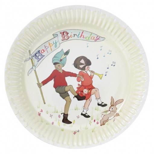 Belle and Boo Plates