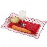 Knitted Noel Santa Platter