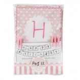 Pink N Mix Birthday Banner