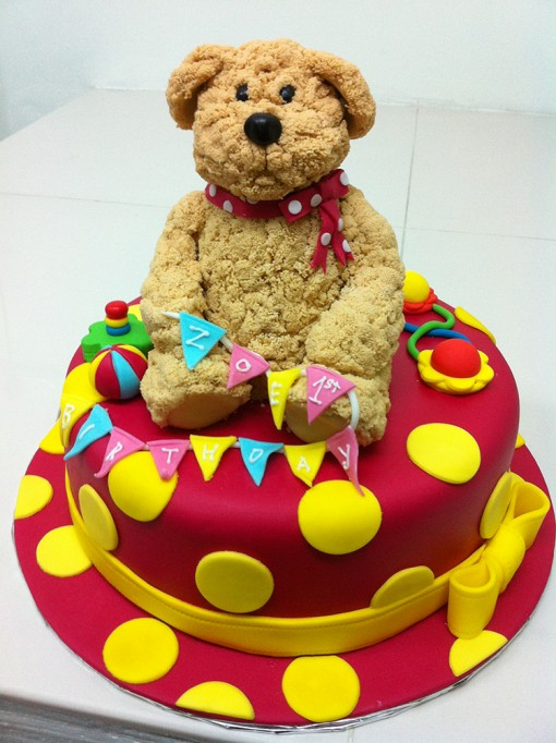 Brown Bear Cake_resized