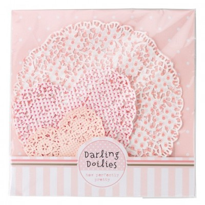 Pink N Mix Doilies