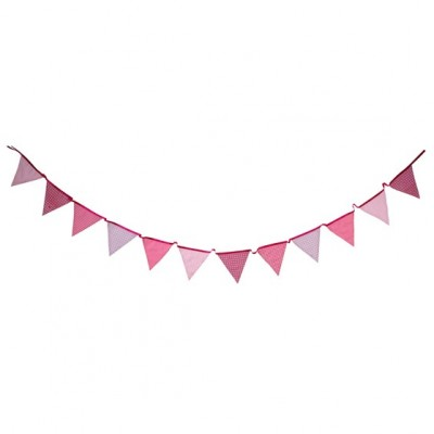 Pink N Mix Fabric Bunting