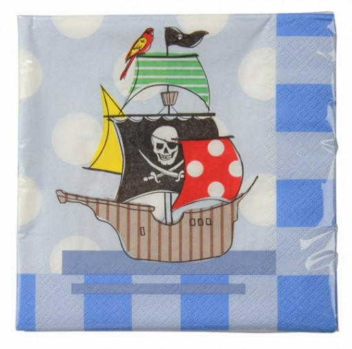 Pirate Party Napkin